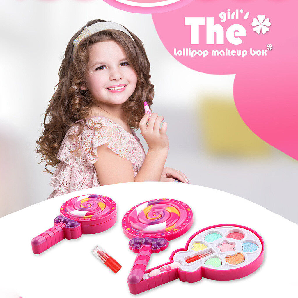 【acq】make It Up Girl Pretend Play Makeup Set For Children Great For Little Girls &.