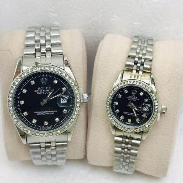 SPECIAL PROMOTION ROLEX_DATE JUST STAINLESS STEEL WATCH FOR COUPLES Malaysia