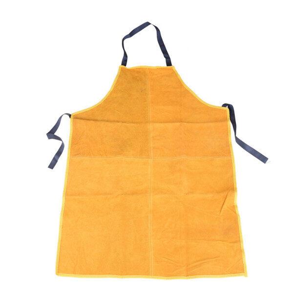Safurance Welders Leather Welding Cutting Bib Shop Apron Heat Resistant Clothes