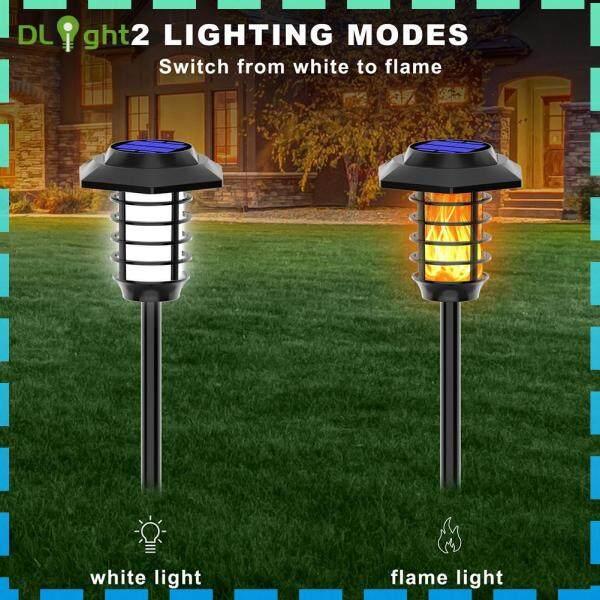 Đèn Pin Năng Lượng Mặt Trời Ngoài Trời, Đèn LED Chiếu Sáng Sân Vườn
