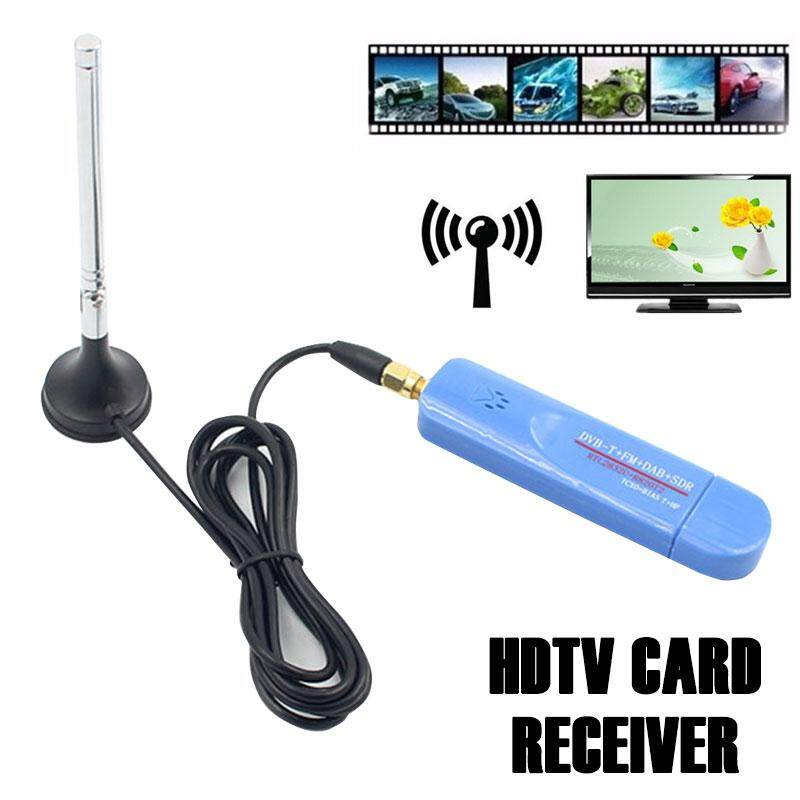 Durable Satellite TV Receiver Antenna Crystal Digital TV Video RTL2832U USB2.0 ABS RTL-SDR Parts Home Audio Tv Cards Receiver SDR Receiver