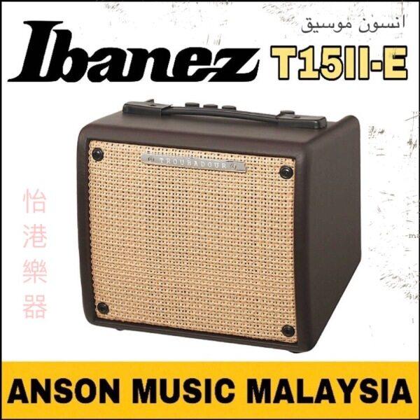 Ibanez T15II Troubadour Acoustic Guitar Amplifier (T15II-E) Malaysia