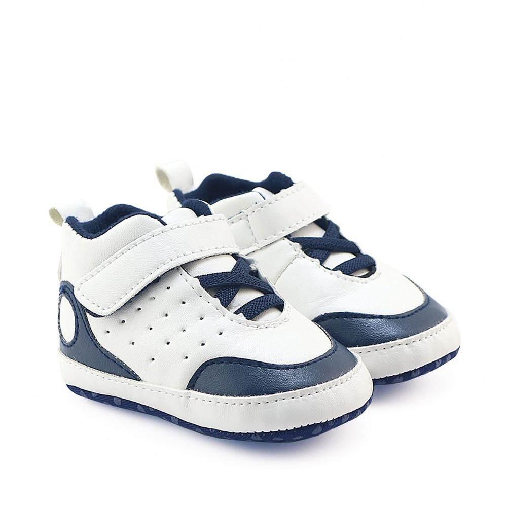 Newborn Infant Girls Boys Crib Shoes Soft Sole Anti-slip Sports Sneakers Shoes