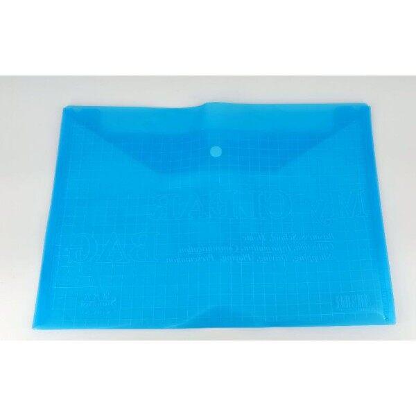 My Clear Bag A4 Button File/Bag W-209-20A
