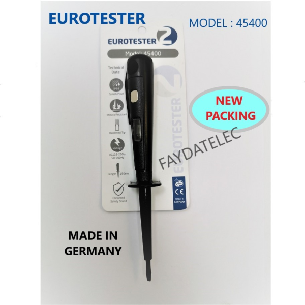 EUROTESTER 2 SCREWDRIVER TEST PEN (VARIATION COLOR) MADE IN GERMANY (1pcs)