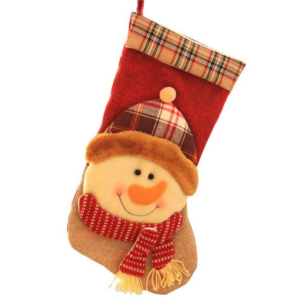 ... Bigood Christmas Decor Candy Socks Childern Gift Bag Market Home Gift Pouch