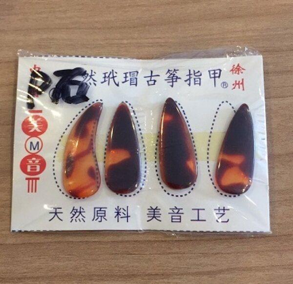 Plastic Guzheng Nails 古筝义甲 玳瑁古筝指甲 Malaysia