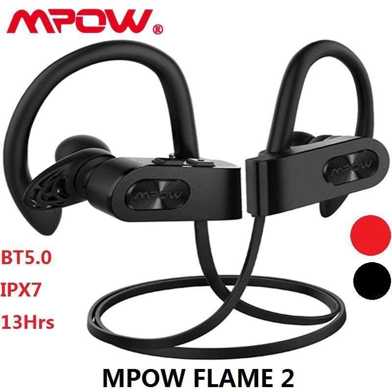 Mpow Flame2 Headphone Bluetooth 13-Hr Waktu Bermain, Bluetooth 5.0 Headset Nirkabel, IPX7