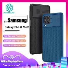 Nillkin Thời Trang PC Ốp Lưng Cho Samsung Galaxy F62 / M62 Ốp Lưng Bảo Vệ Máy Ảnh Doanh Nghiệp Bảo Mật Chống Sốc Ốp Lưn