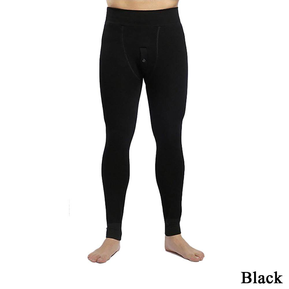 32383a3d51 Mens Thermals Long Johns Fleece Lined Thick Leggings Warm Layer Winter  Leggings