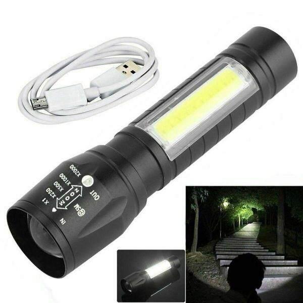 Bảng giá Đèn Pin USB LED COB T6 Tiện Dụng