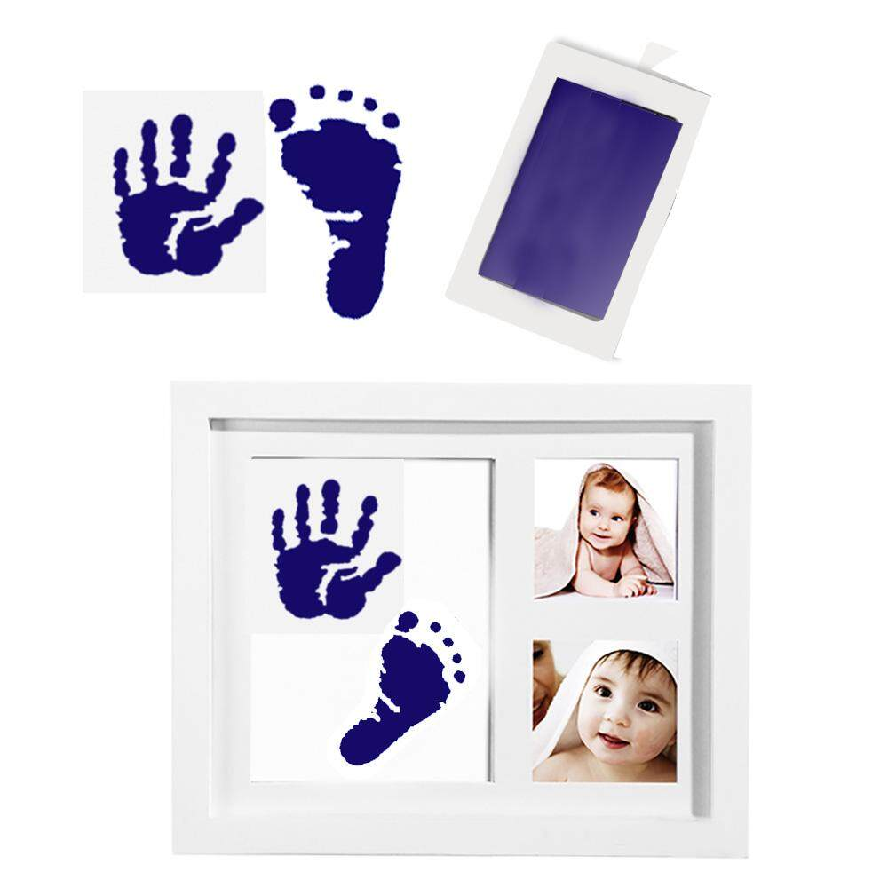 Gifts Non-Toxic Infant Clay Toy Newborn Baby Souvenir Ink Pad Storage Memento Baby Footprint Imprint Kit Handprint Casting By Youshizhi.
