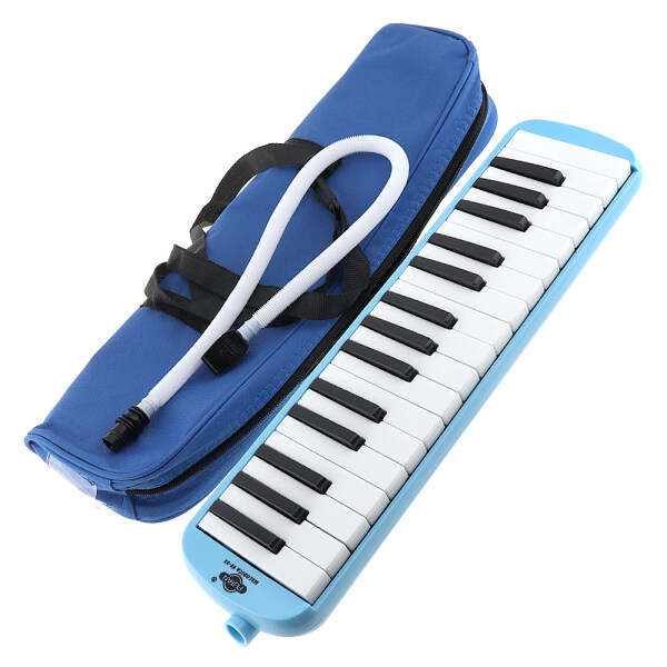 32 Keys Mouth Piano Melodica Portable Pianica Harmonica Musical Instrument with Bay for Students Kids Children Beginners Gift Malaysia