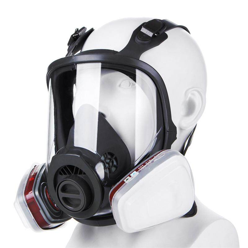 15 in 1 Full Face Facepiece Respirator Gas Mask For 3M 6800 Dust Paint Spraying