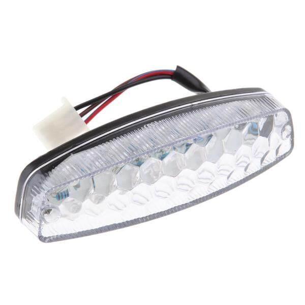 WDPlanet, Đèn Hậu LED Màu Đỏ Thông Dụng Cho Xe Máy Cafe Racer Đèn Báo Phanh