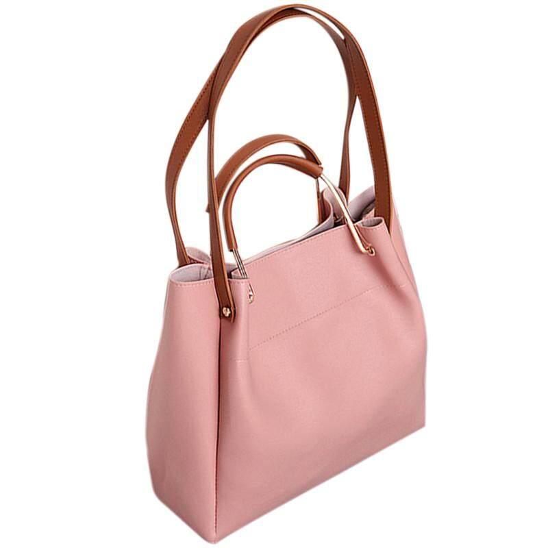 5082f63acc744 Fashion Female Shoulder Bag Pu Leather Women Handbag Simple Style Messenger  Bag Top-Handle Large