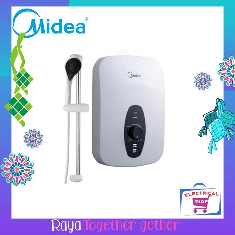 Midea Water Heater Mwh38q (white) By Electrical Shop.