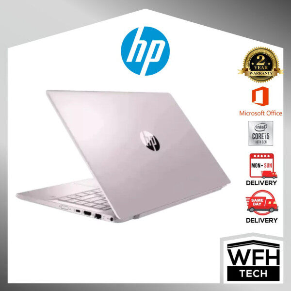 (Online Exclusive)HP Pav 14-ce3079tx (Pink)/Intel i5-1035G1 1.0~3.60Ghz/8GB D4/512GB SSD/14 FHD/NVD MX250 2GB D5/ Malaysia