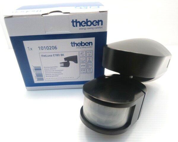 Theben E180 theLuxa IP55 Outdoor 180° Motion Sensor (Germany) (Black)