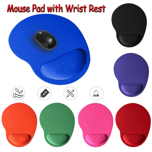 Mouse Pad with Wrist Rest for Computer Laptop Notebook Keyboard Mouse Mat with Hand Rest Mice Pad Easy to take it with you