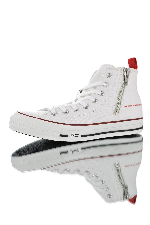 d76aae00b509 DENHAM X Converse All Star Zipper High-end Recreational Sneakers Board  Shoes for Men
