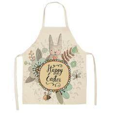 epayst Tạp dề nấu ăn THỎ ĐÁNG YÊU không thấm nước, giúp chị em luôn xinh xắn khi vào bếp