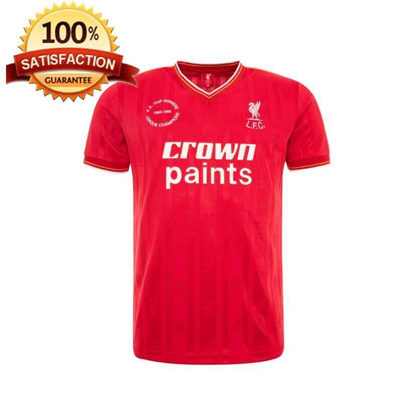 dff8ced2d LFC 1986 RETRO HOME SHIRT Red Liverpool