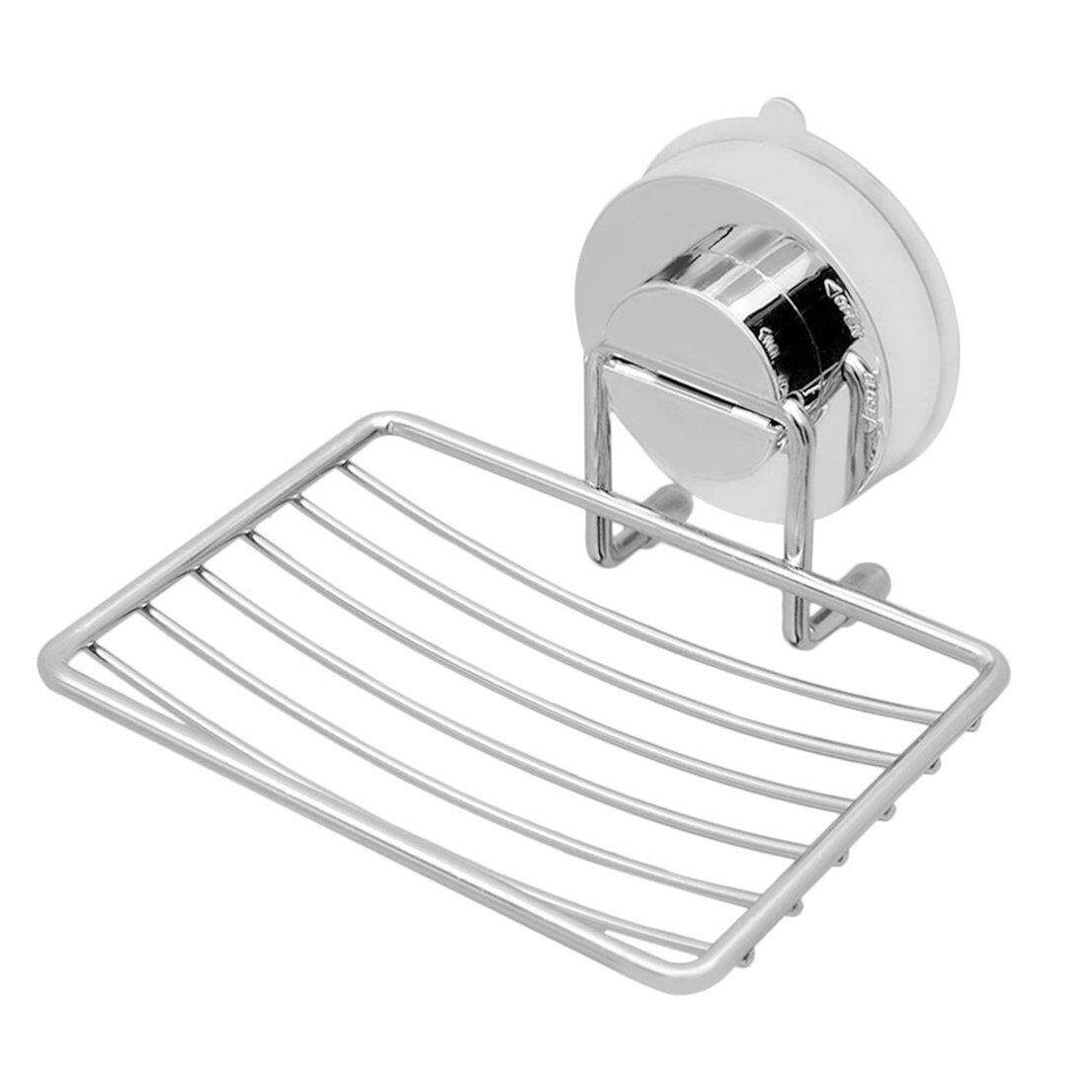 Best Sale Music Stainless Steel Wall-mounted with Strong Vacuum Suction Cup Soap Dish Holder