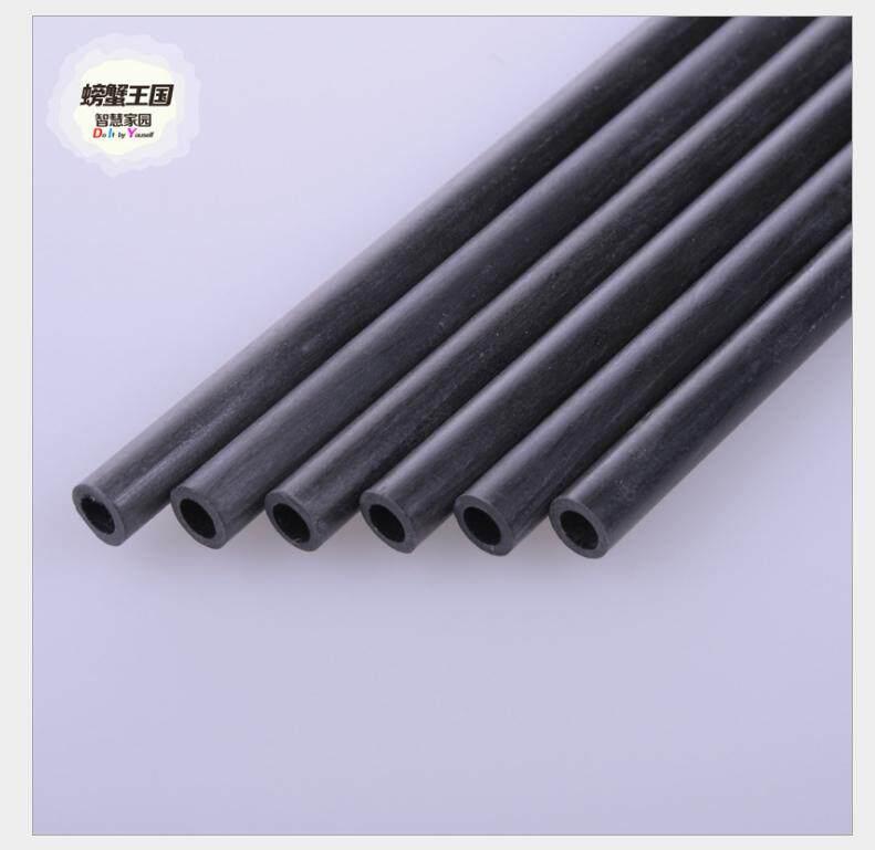 10 cái/bộ 200mm Vòng Sợi Carbon Ống Nguyên Chất Carbon Rỗng Ống Cuộn Bọc Matt Bề Mặt cho RC Máy Bay TỰ LÀM dụng cụ-Số 8