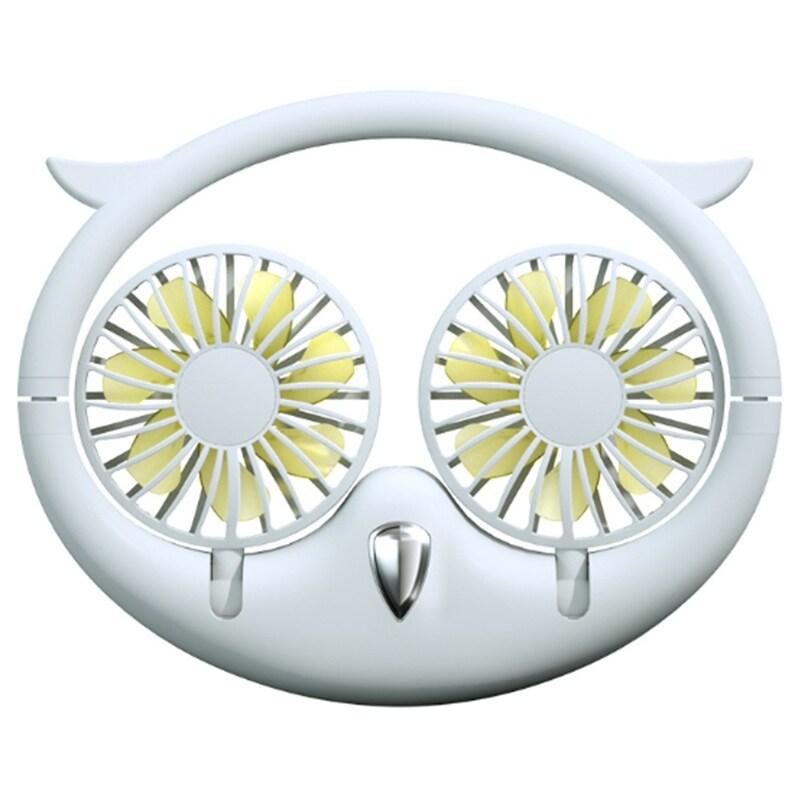 Bảng giá 180 Degree USB Portable Fan Hands-Free Neck Fan Hanging Rechargeable Sports Fans 3 Gears Wearable Sport Fan Phong Vũ