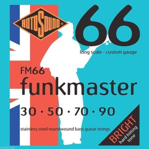 Rotosound FM66 Funkmaster 4-Str Bass 30-90 Malaysia