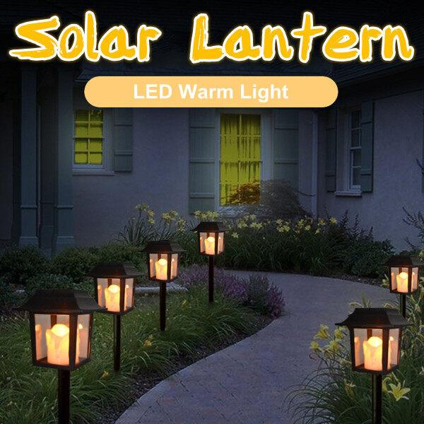 Bảng giá Đèn Nến LED Dạng Lồng Chạy Bằng Năng Lượng Mặt Trời, Trang Trí Sân Vườn Gia Đình, Ngoài Trời Không Thấm Nước
