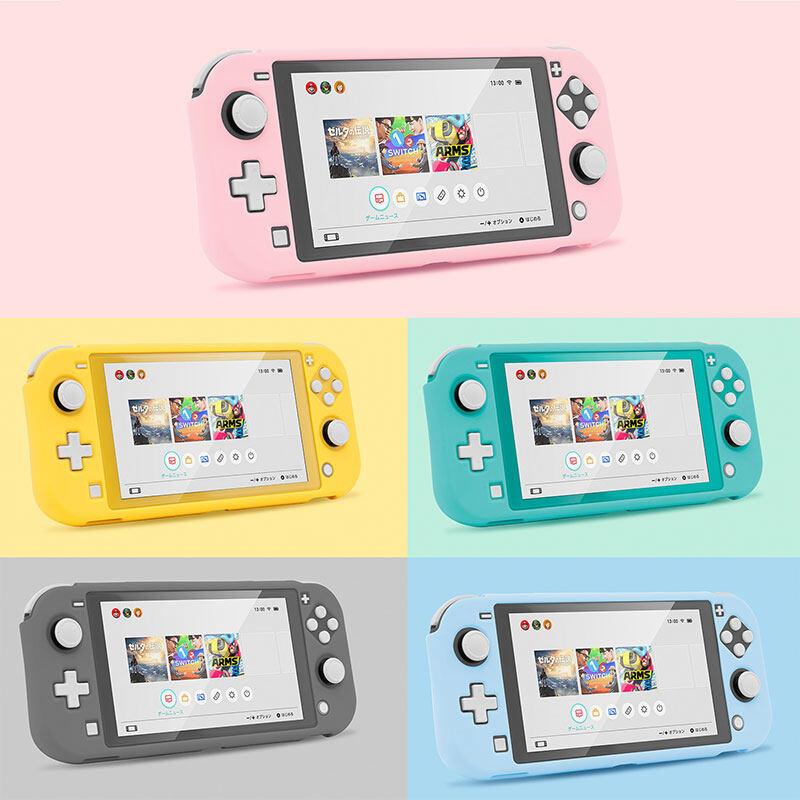 Vỏ Bảo Vệ Switch Lite Ốp Cứng PC Dễ Thương Nhiều Màu, Lại Grip Vỏ, Phụ Kiện Máy Chơi Game Nintendo Switch Lite