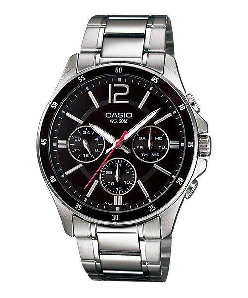 {SPECIAL PRICE} CASIO MTP-1374D-1AV Analog Mens Watch  Date Day Display Malaysia