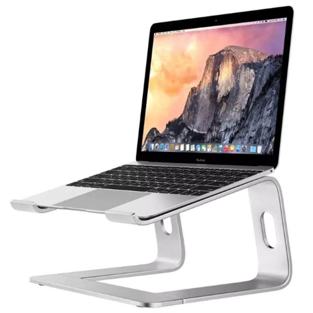 Laptop Stand Aluminum Alloy Ventilated Desktop Stand Portable Laptop Stand Holder Laptop Cooling Bracket for MacBook Notebook iPad Tablet