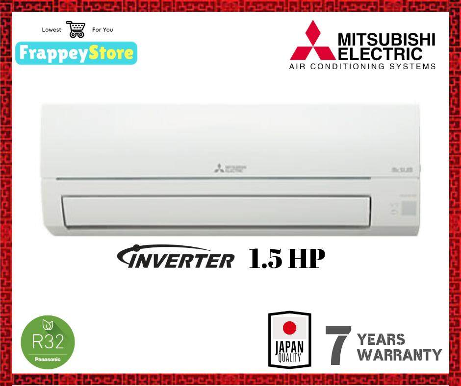[FRAPPEY] MITSUBISHI AIR CONDITIONER INVERTER 1.5HP (MSY/MUY-JP13VF)