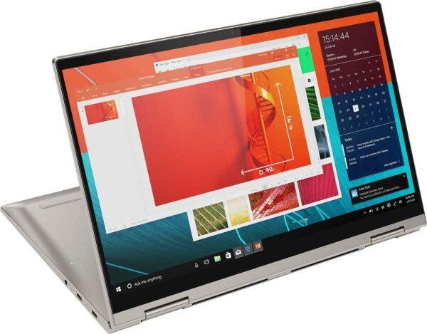 2020 Lenovo Yoga C740 14 FHD IPS Touchscreen Premium 2-in-1 Laptop, 10th Gen Intel Quad Core i5-10210U, 8GB RAM, 256GB PCIe SSD, Backlit Keyboard, Fingerprint Reader, Windows 10, Aluminum Chassis Malaysia