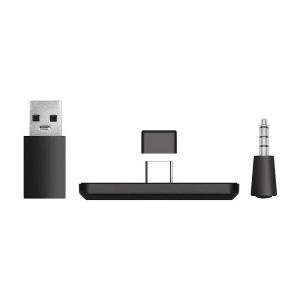 [AGH MALL] Bluetooth Adapter Converter 5.0 Audio Receiver Mic Supports Game Voice For Ps4
