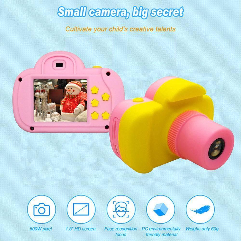 Onlook Anak-anak Kamera Digital Mini Isi Ulang Perekam Video Edukasi Lucu  Mainan 340106f67a