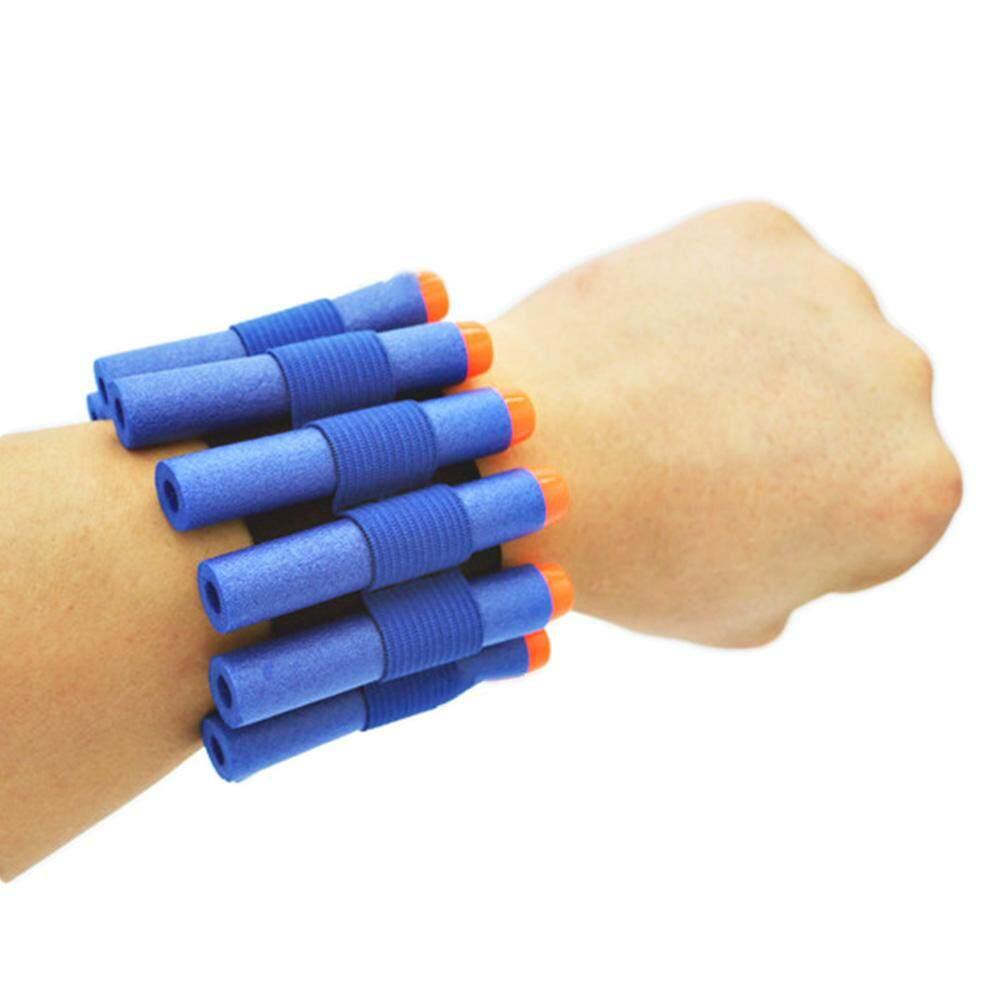 Burstore 1PCS Safety Elastic Wrist Band Storage Soft Bullets for Nerf Gun Toy Children Game Toys for Children