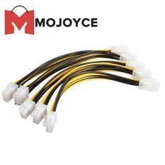 Mojoyce 5x ATX 4 Pin Nam Đến 8 Pin Bộ Chuyển Đổi Cáp Điện EPS Bộ Nguồn CPU