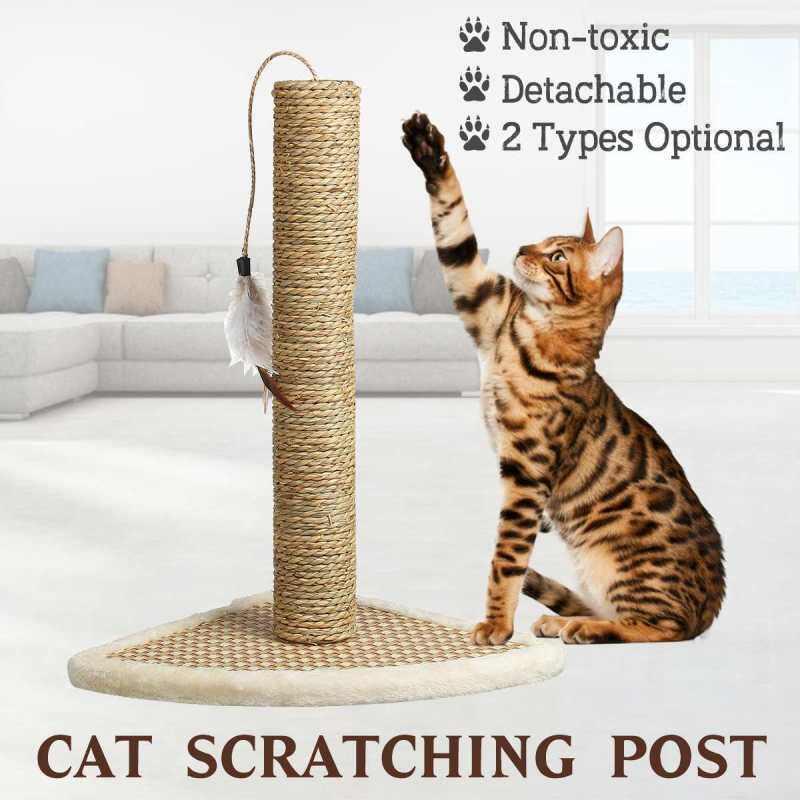 Có Thể Tháo Rời Cột Cho Mèo Cào Cây Cào Với Lông Treo Sofa Cào Bài Đồ Chơi Hình Thú Cưng Trung Tâm Hoạt Động