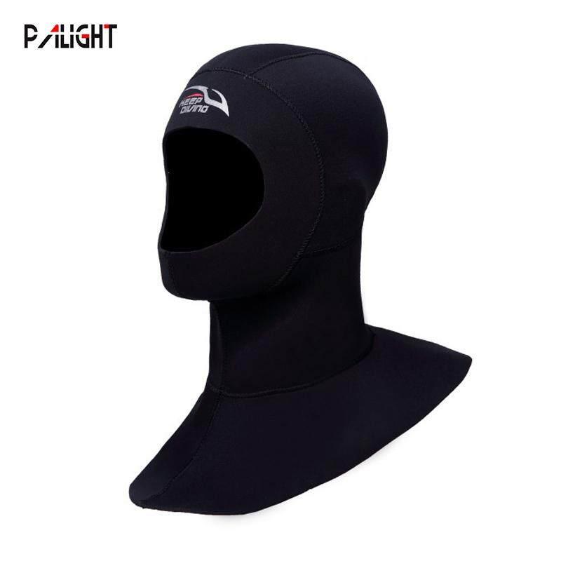 PAlight 3MM Neoprene Lặn biển Hood với Vai Lặn Mũ Trùm Đầu 10