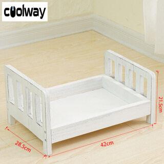 Coolway Baby Giường Gỗ Quà Tặng Công Cụ Chụp Ảnh Tạo Dáng Di Động Bền Chụp Ảnh thumbnail