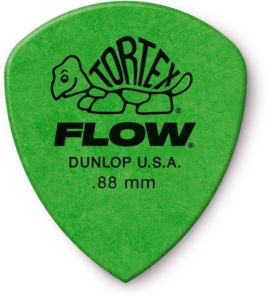 Jim Dunlop 558P088 TORTEX FLOW ® STANDARD PICK .88MM -12/Player Pack Malaysia
