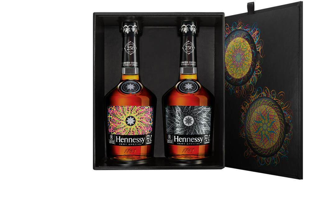 Hennessy V.s Deluxe Edition (2 Bottles) By Ryan Mcginness Gift Box By Wil_jay_3143.