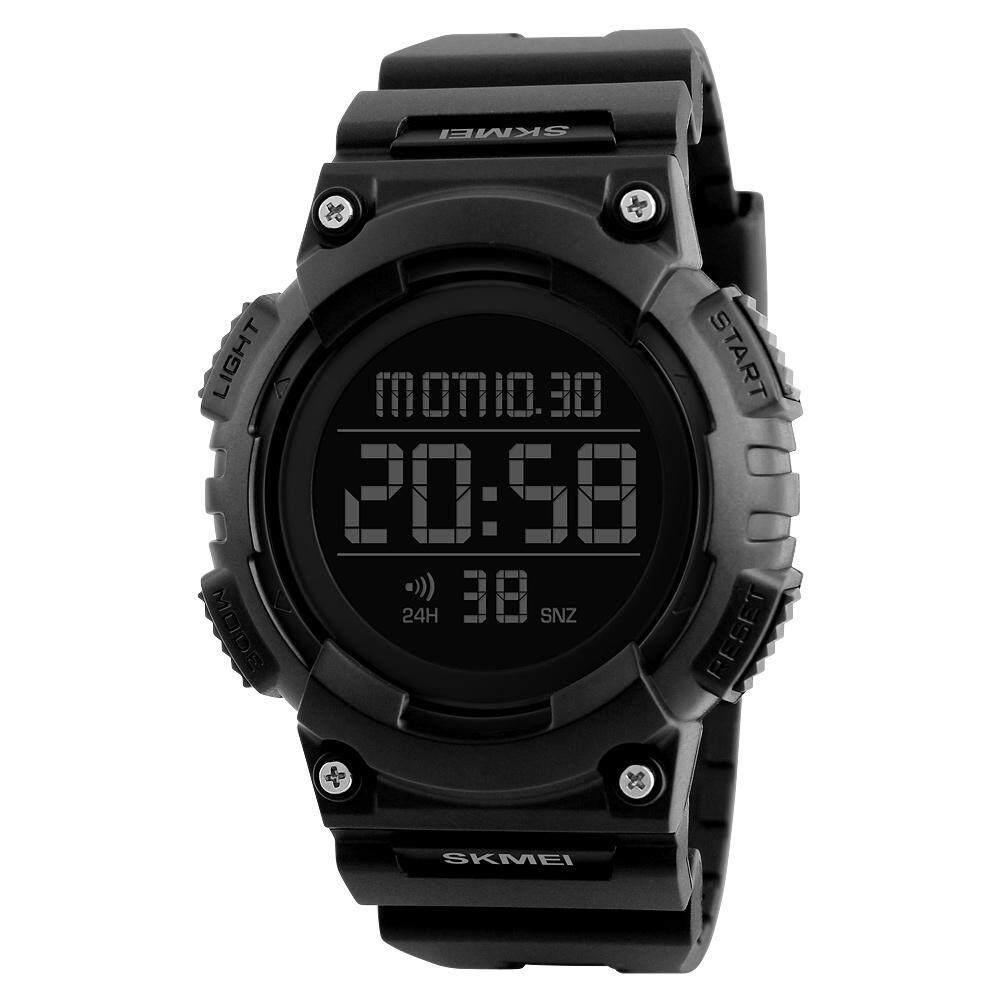 SKMEI Men Smart Watch Remote Camera Call Reminder Digital Wristwatches Pedometer Waterproof .black Malaysia
