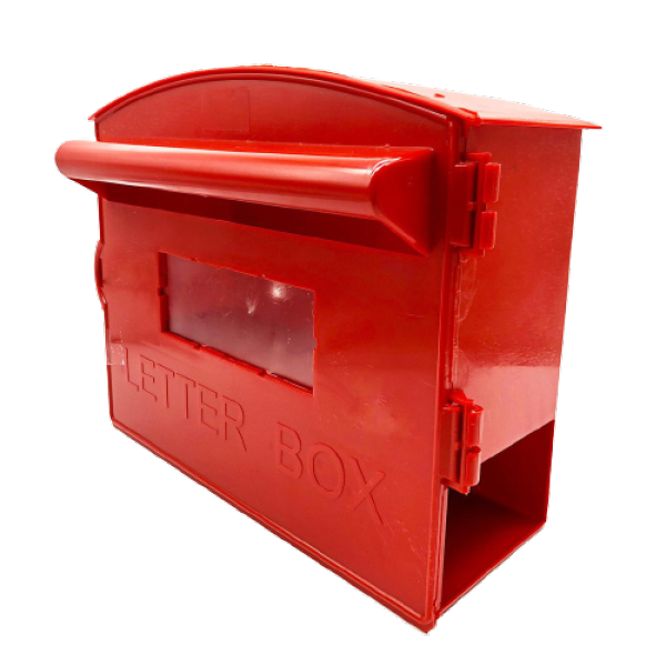 PVC LETTER BOX WITH NEWPAPER HOLDER