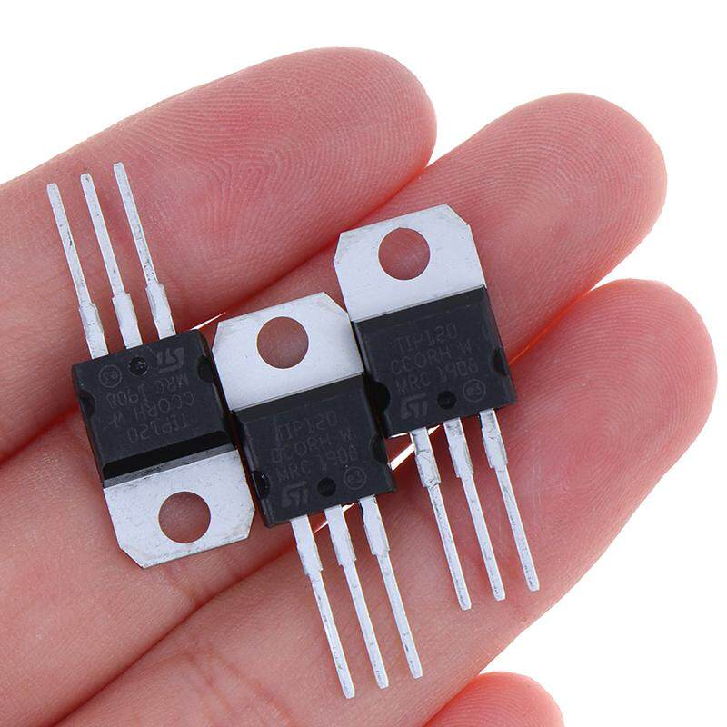 10 PCS TIP120 Darlington complementary silicon power transistor in-line TO-220