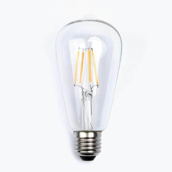 2W-8W Edison ST64 E27 Vintage Retro vít LED Filament Light Bulb đối với Câu Lạc Bộ khách sạn trang trí nội thất